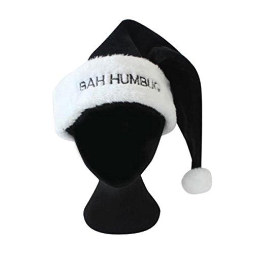 Weihnachtsmann-Mütze mit Aufschrift
