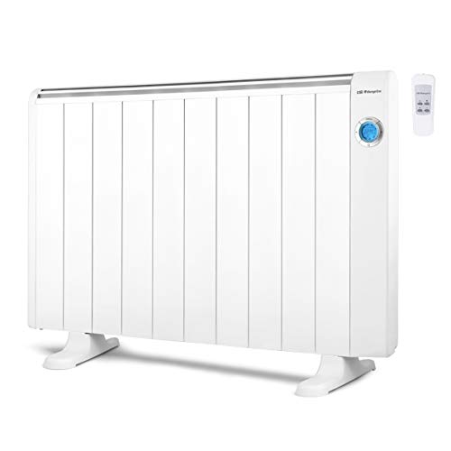 Orbegozo RRE 1810 Emisor Térmico Bajo Consumo, 10 Elementos de Calor, Pantalla Digital LCD,...