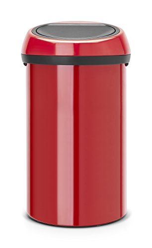 Touch bin 60 L / Passion red Soft-touch Bin