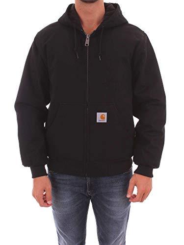 Quilt Flannel Lined Sandstone Active Jacket - Farbe: Black - Größe: M Carhartt Sandstone Active Jacket