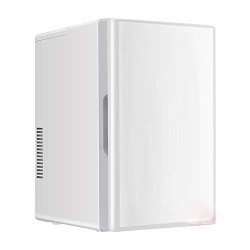 Muttermilch Alkohol (Car refrigerator-TOYM 18L Auto Kühlschrank Kompakt Kühler Und Wärmer Auto Home Dual Use Muttermilch Gekühlte Studentenwohnheim Mini-Kühlschrank, Weiß)