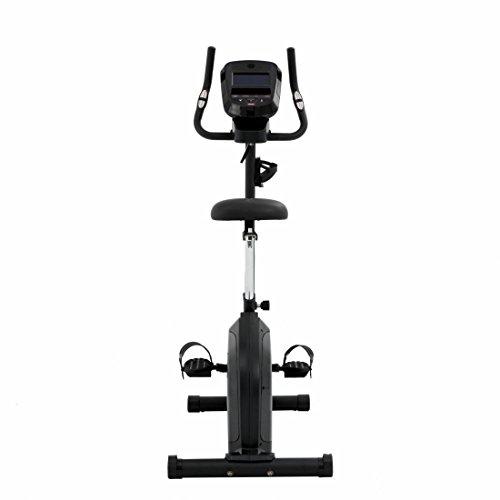 Spirit Upright Bike DBU 60 – Heimtrainer, Fitness Indoor Bike, Ergometer mit Hand-Puls-Sensoren - 6