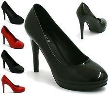 BS12925-New-Mens-Womens-Drag-Queen-Cross-Dresser-High-Heel-Round-Toe-Court-Shoes-Big-Sizes-UK-9101112
