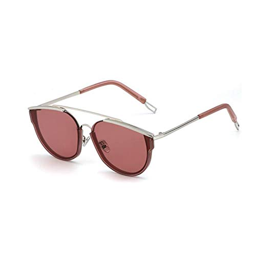 YIWU Brillen Sonnenbrille weibliche Hipster Retro Big Box Lange Gesicht Sonnenbrille männliche Sonnenbrille Brillen & Zubehör (Color : 2)