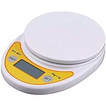 Uniqus 5Kg/1g LCD bilancia balanza Digital Electrã³Nica del Peso balanza de Cocina Comida Romana