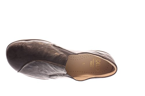 Fidelio 395014-80 Damen Hallux Slipper, Schwarz Schwarz