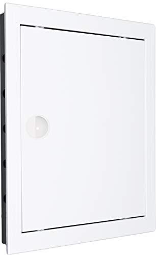 Revisionstür Revisionsklappe Revision. Hochwertig ABS-Kunststoff weiß. Größen wählbar. (10x10 - AD10/10)