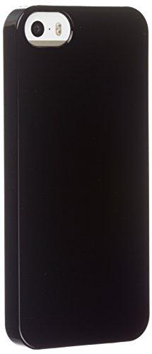 Trendz Hard Shell Clip-On Hülle Schutzhülle Case Cover Schale für iPhone 5/5S/SE - Schwarz