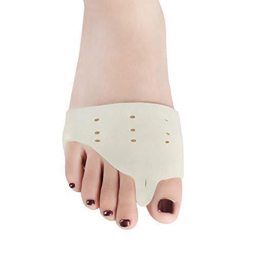 Hallux valgus Orthotics Separador Dedos Silicona dedo