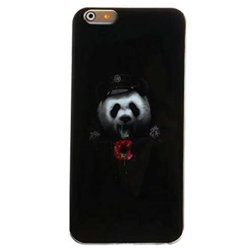 iPhone 6S Plus Hülle Case,iPhone 6 Plus Hülle Case,Gift_Source [Slim Thin] [Drop Protection] Premium Flexible Soft TPU Hülle Case Fashion Silicone Slim Hülle Case Cover für Apple iPhone 6s Plus / 6 Pl E01-18-Panda