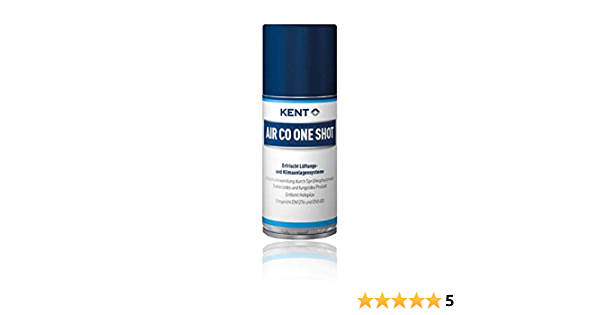 Kent Air Conditioning Cleaner Car Air Co One Shot 100ml Drogerie Körperpflege