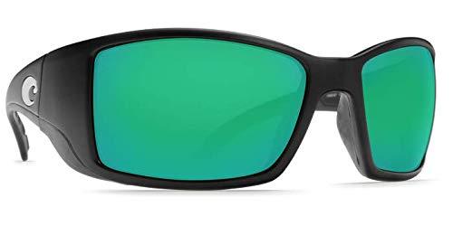 Costa del Mar Blackfin-Gafas de sol polarizadas-Costa lente de policarbonato 580 Negro...