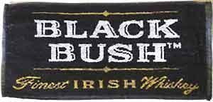 Black Bush Whiskey Baumwolle Bar Handtuch (pp)