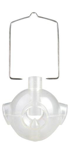 Esschert Design Futterstelle für Vögel, Futterspender für PET-Flaschen, Aufsatz für Futterflaschen, ca. 15 cm x 15 cm x 15 cm