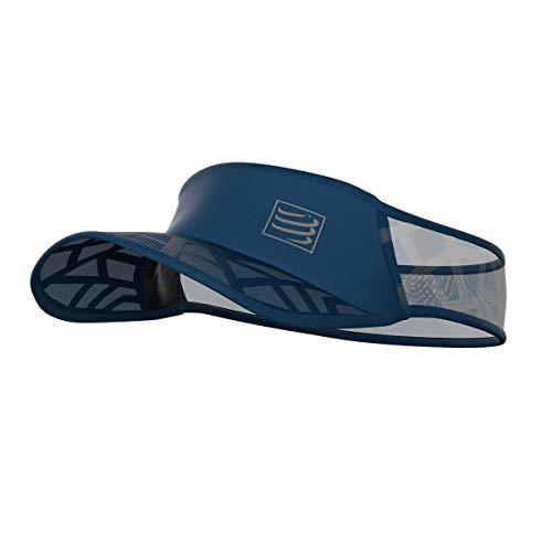 webinero Compressport Spiderweb Visor Ultralight Sonnenschutz Laufkappe Cap Unisex (Blue)