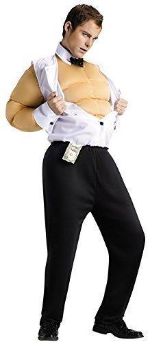 Herren Sexy Chippendale Stripper Hirsch Do Funny Comedy-Kostüm (Chippendale Kostüm)