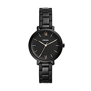 Fossil Damen Analog Quarz Uhr mit Edelstahl Armband ES4511