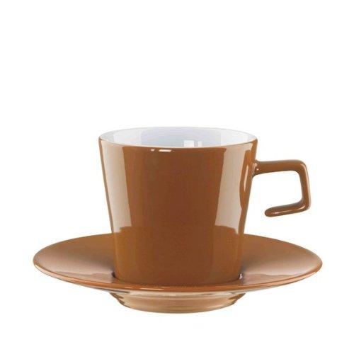 Caffè AL Bar Tasse à cappuccino avec soucoupe 0,18L