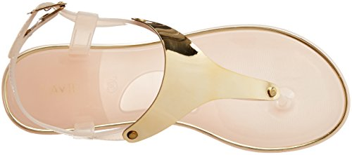 Lavie Women's 3662 Flats Champagne Fashion Sandals - 5 UK/India (38 EU)