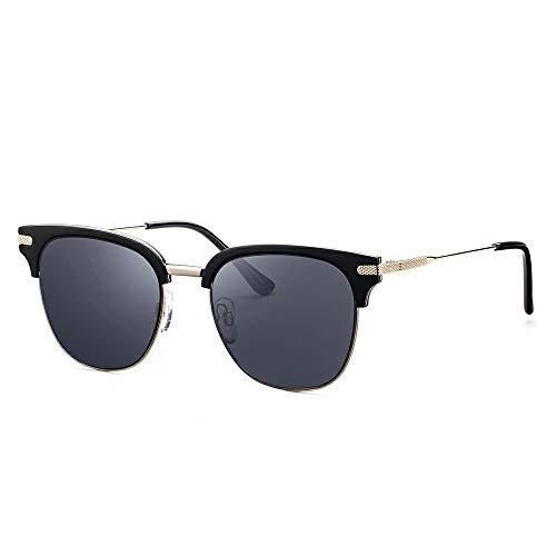 Avoalre Sonnenbrille Damen Retro Sunglasses, 2019 Trend Vintage Style Verlaufsglas Metallbügeln 100% UV400 Schutz