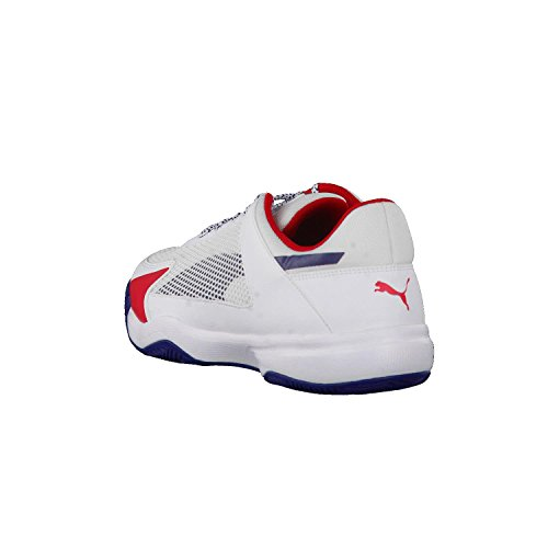 blanc Mixte Fitness rouge Adulte Evospeed Indoor Puma 5 NF Chaussures de Bz07qwB