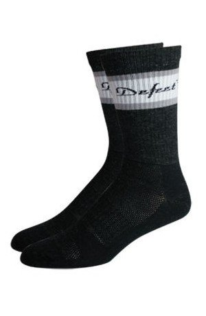 DeFeet - Classico Sock Merino Wool AW13, Grey/White, XL
