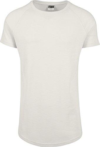 Urban Classics Herren T-Shirt Thermal Slub Raglan Tee, Weiß (Offwhite 555), X-Large (Tee Thermal)