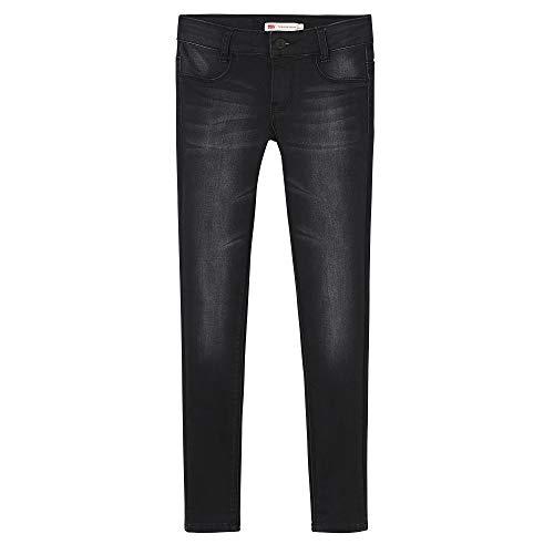 Levi's Kids Mädchen Nn23527 02 Trousers Jeans, Schwarz (Black, 14 Jahre (Herstellergröße: 14Y) -