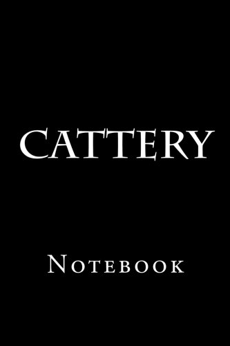 Cattery: Notebook -