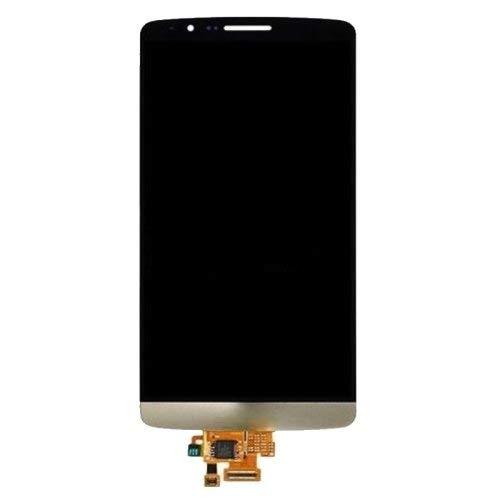 Scofeifei Ersatzteile, iPartsBuy LCD Display + Screen-Analog-Digital wandler für LG G3 Mini D722 / D725 (Farbe : Weiß) (Farbe : Gold)
