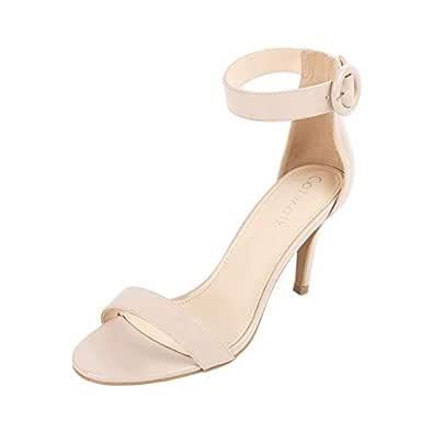 Catwalk Women's Ankle Strap Buckle Sandals