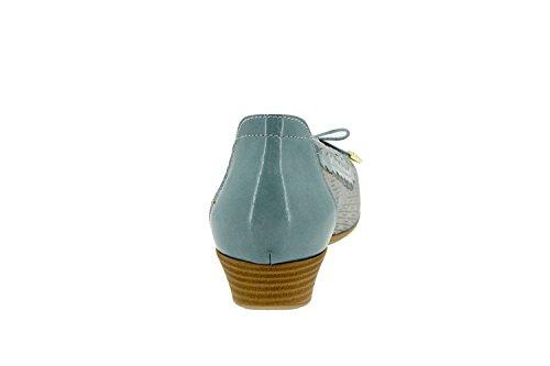 Scarpe Da Donna Comfort In Pelle Piesanto 4725 Scarpe Solette Estraibili Comode Aqua Larga