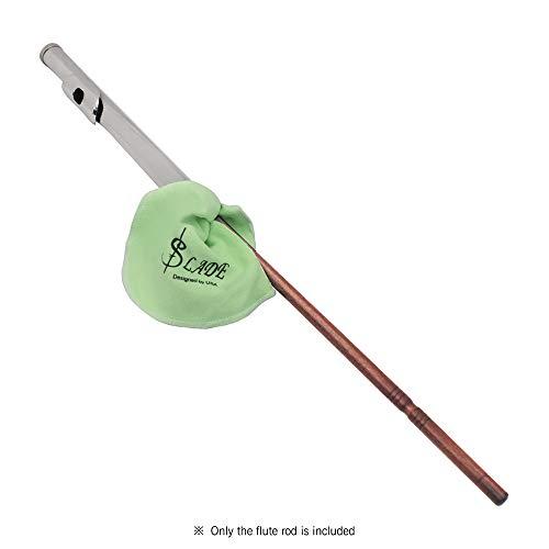 Festnight Holzflöten-Reinigungsstab Professionelles Querflöten-Reinigungsset Zubehör Rot