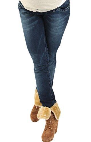Christoff Designer Jeans Boot-Cut extralang Damen Jeanshose Umstandsmode 638/89-38 Length: 32 -