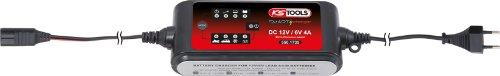KS TOOLS 550 1735 - CARGADOR DE BATERIAS (12 V + 6 V / 4 A )