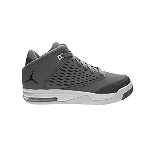 Nike Unisex-Kinder Air Jordan Flight Origin 4 (GS) Sneaker Durabuk Grau 35.5 (Origin-schuhe Jordan Flight Jungen)