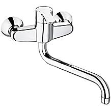 Roca L20 - grifo monomando exterior para cocina con caño giratorio . Griferías hidrosanitarias Monomando. Ref. A5A8409C00
