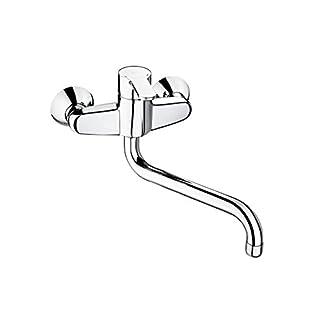 Roca L20 – grifo monomando exterior para cocina con caño giratorio . Griferías hidrosanitarias Monomando. Ref. A5A8409C00