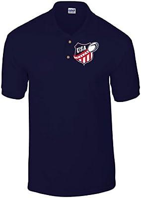 T-Shirtshock - Polo TRUG0078 american rugby usa logo