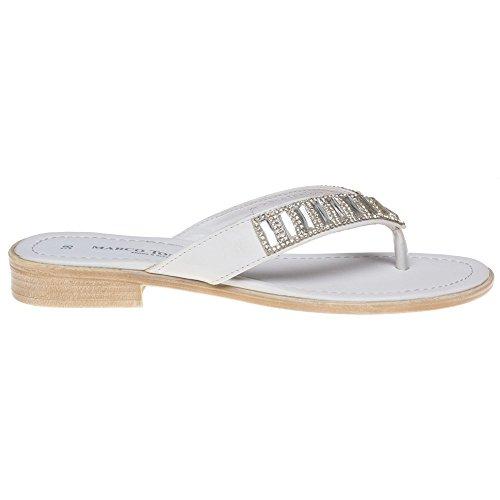 Marco Tozzi 27109 Damen Sandalen Weiß Weiß
