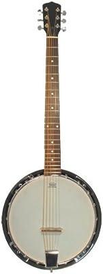 Pasadena - Banjo 6 cuerdas en caoba (remo) -