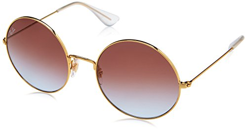 RAYBAN JUNIOR Damen Sonnenbrille Ja-Jo Gold/Lightbluegradientviolet 55