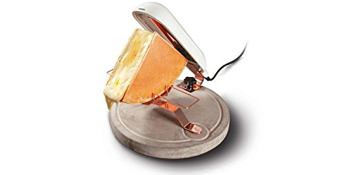 Boska Life Collection Raclette Quattro Béton, Appareil à Raclette, Fromage, Gril, 851500