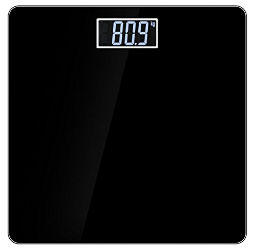 Weightrolux Glass Electronic Digital Body Weight Weighing Scale With Temperature & Battery Indicator