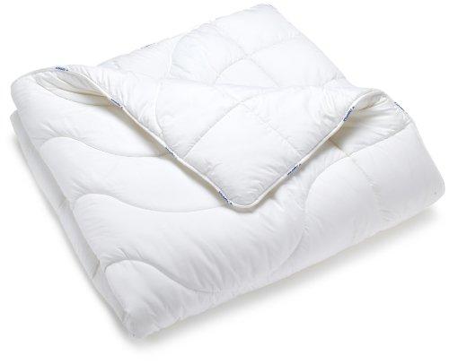 Badenia 03691010154 Bettcomfort Steppbett Irisette Micro Thermo Duo 200 x 200 cm, weiß thumbnail