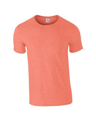 Gildan SoftstyleTM adulto Ringspun T-shirt Medium,Heather Orange