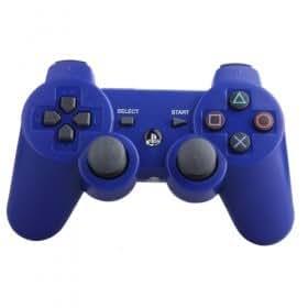 Manette Dual Shock Bleu Compatible - Pour Ps3