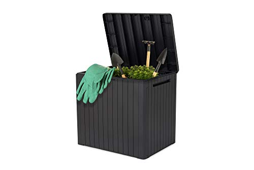 Keter City Outdoor Storage Box Grey 113L Capacity