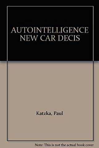 Autointelligence New Car Decision Maker: Large, Luxury, & High Performance Cars, Sport Utility Vehicles, Station Wagons, & Compact Vans/1993