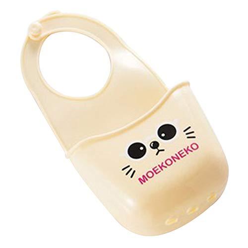 Nortongrace Mini -Spülbecken Hängetasche Wasserbehälter Shelf for Toilet Kitchen Sponge Seife Gadgets Zubehör(None A beige Bear)
